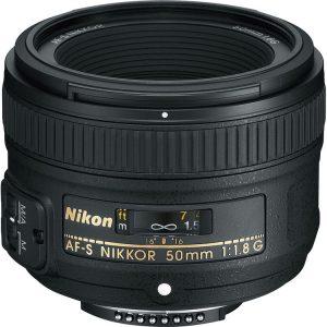 لنز نیکون AF-S Nikkor 50mm f/1.8G