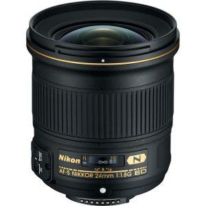 لنز نیکون AF-S Nikkor 24mm F1.8G ED