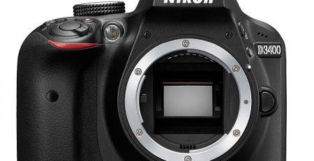 دوربین D3400 نیکون بهطور رسمی معرفی شد