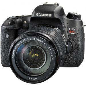 راهنمای دوربین Canon EOS Rebel T6s