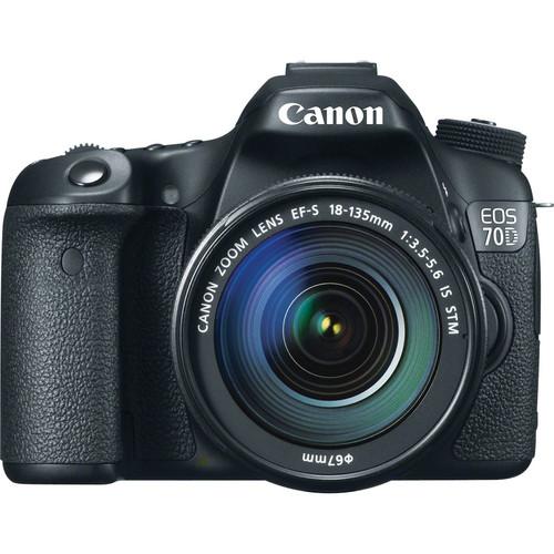 دوربین کانن 70D با lens 18-135mm