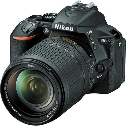 دوربین نیکون D5500, کارت حافظه sandisk 32GB, کیف beyond z20