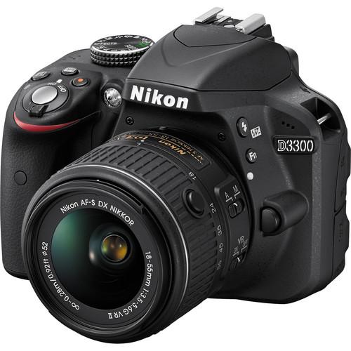 دوربین نیکون D3300 با لنز 55-18 میلیمتر