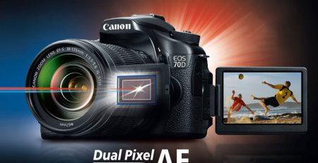 تکنولوژی Dual Pixel CMOS AF