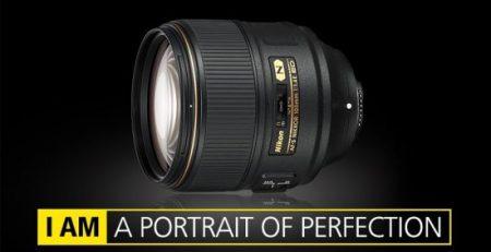 لنز Nikon AF-S NIKKOR 105mm f/1.4E ED
