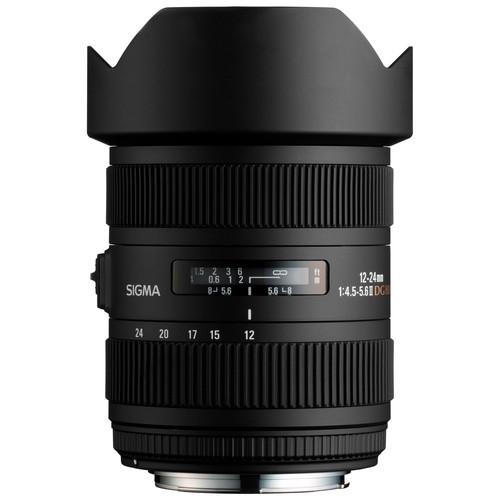 لنز Sigma 12-24mm for Canon