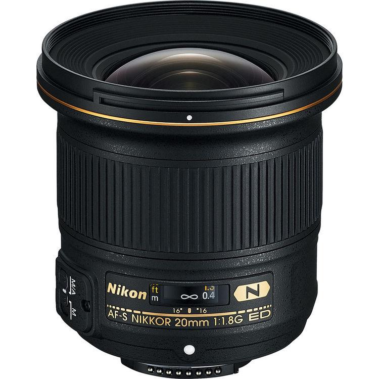 لنز کانون AF-S Nikkor 20mm ED