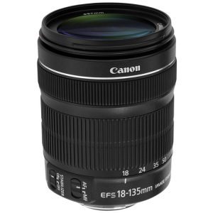 لنز کانن Canon EF-S 18-135mm f/3.5-5.6 IS STM No Box