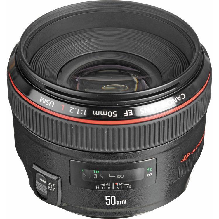 لنز کانن EF 50mm L USM