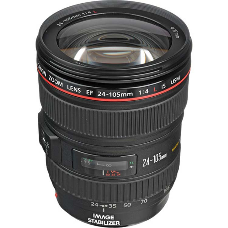 لنز کانن EF 24-105mm L IS USM