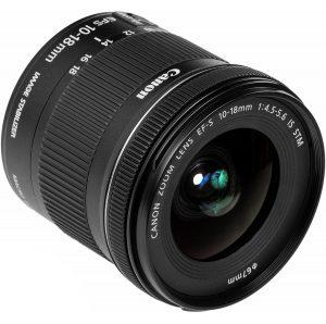 لنز کانن Canon EF-S 10-18mm f/4.5-5.6 IS STM
