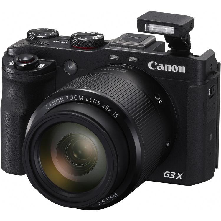 راهنمای دوربین Canon Powershot G3X