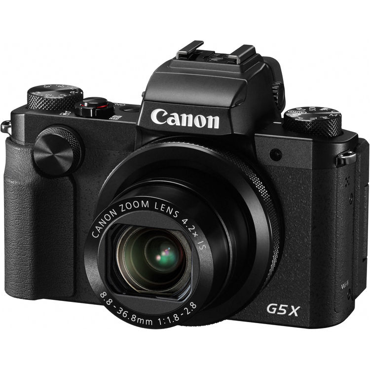 راهنمای دوربین دوربین کانن G5X