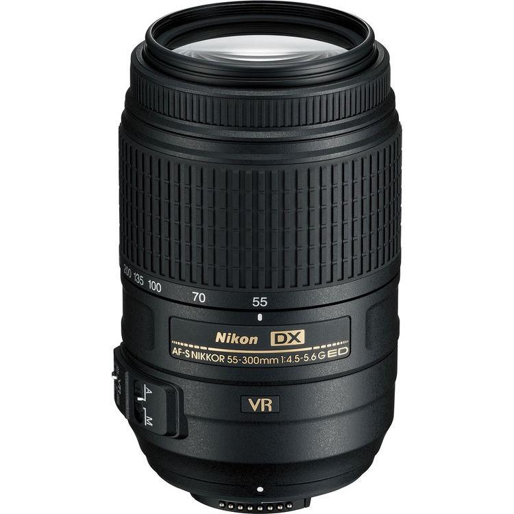لنز نيکون55-300mm AF-S DX f/4.5-5.6G ED VR | Nikon 55-300mm AF-S DX f/4.5-5.6G ED VR