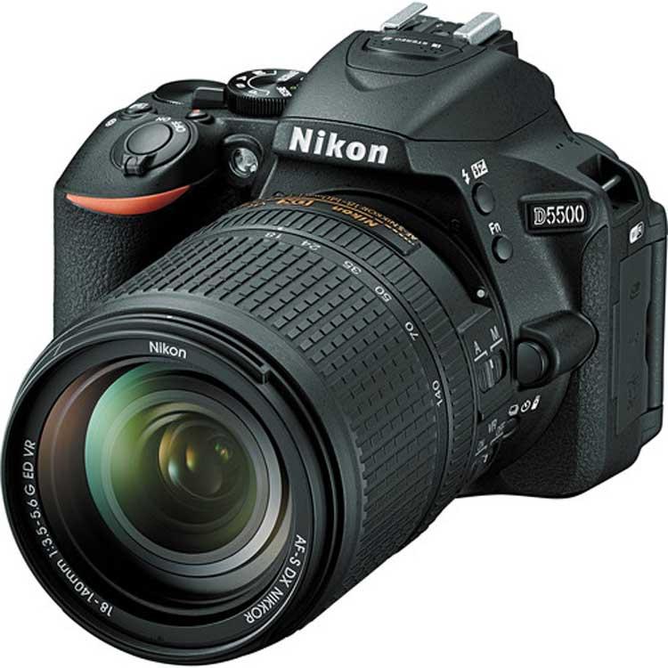راهنمای دوربین Nikon D5500 دوربین Nikon D5500
