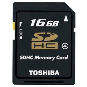 کارت حافظه Toshiba SDHC 16GB