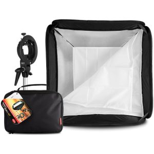 کیت سافت باکس Hahnel softbox 80cm kit