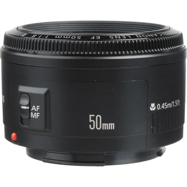 لنز کانن EF 50mm f/1.8 | Canon EF 50mm f/1.8 II