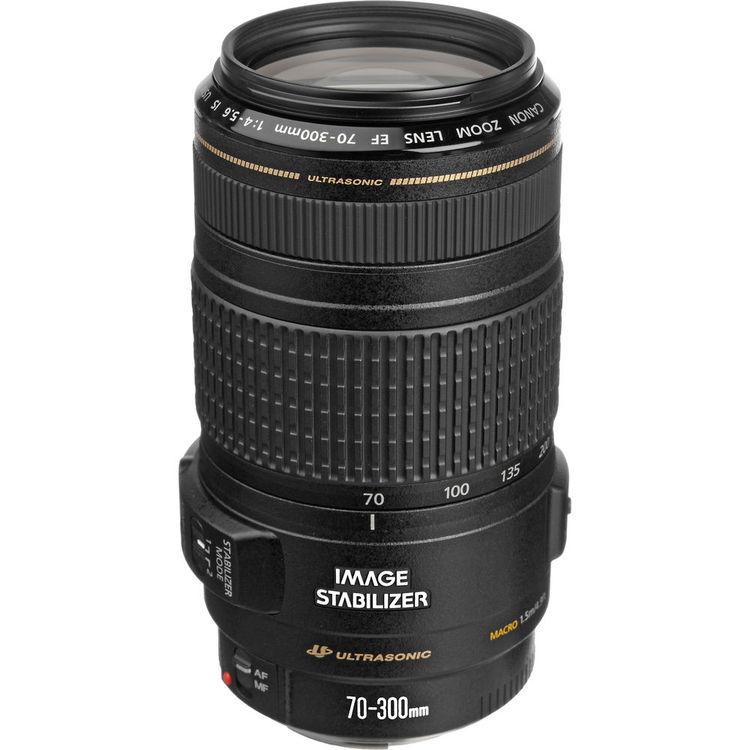 لنزکانن Canon EF 70-300mm f/4-5.6 IS USM