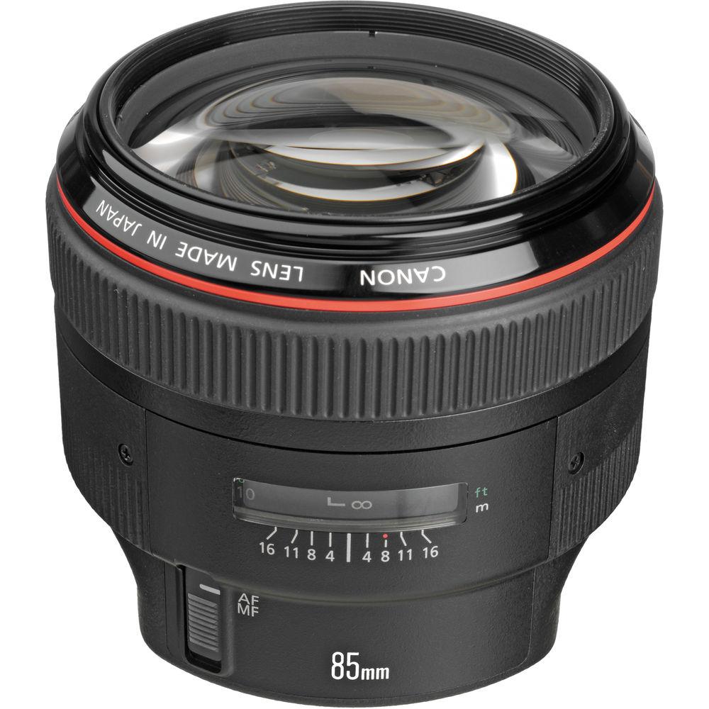 لنز کانن EF 85mm f/1.2L II USM