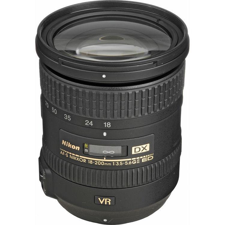 لنز نیکون NIKKOR 18-200mm f/3.5-5.6G