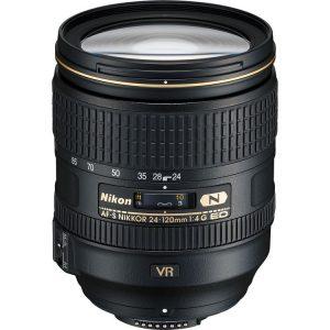 لنز AF-S Nikkor 24-120mm ED VR