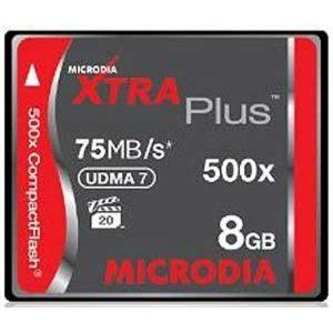 کارت حافظه Microdia XTRA Plus CF 8GB