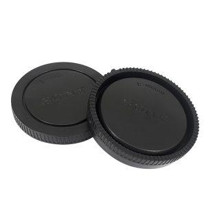 درب پشت لنز و بدنه سونی Sony Rear Lens cap + Camera Body Cap