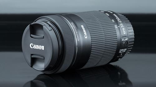 لنز کانن EF-S 55-250mm IS STM