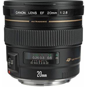 لنز کانن Canon EF 20mm f/2.8 USM