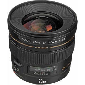 لنز کانن EF 20mm USM