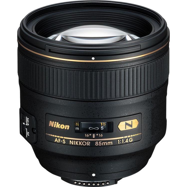 لنز نیکون Nikkor 85mm f/1.4G