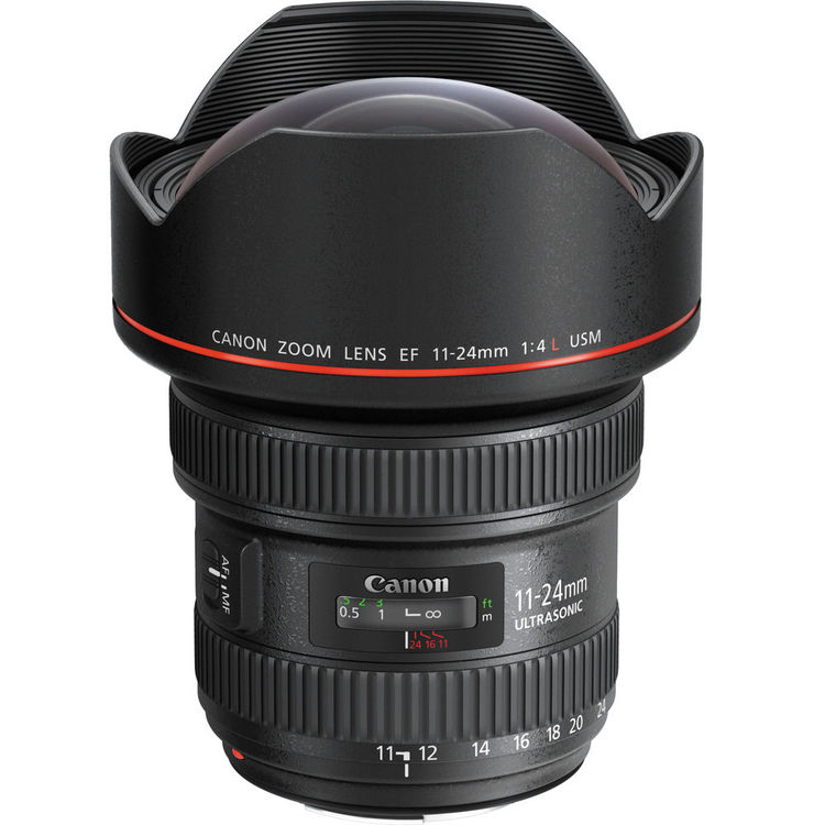 لنز Canon EF 11-24mm f/4L USM
