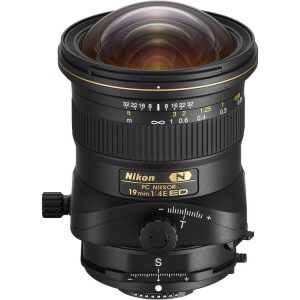 لنز PC Nikkor 19mm ED Tilt-Shift