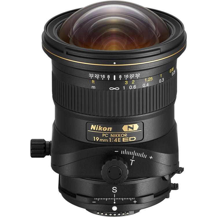 لنز PC Nikkor 19mm ED Tilt-Shift