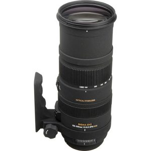 لنز Sigma 150-500mm for canon