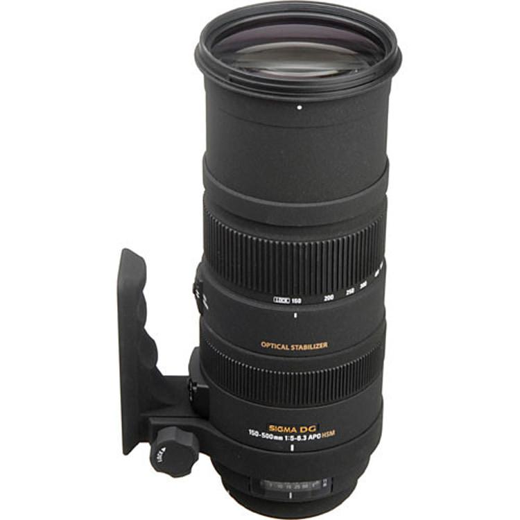 لنز Sigma 150-500mm for canon