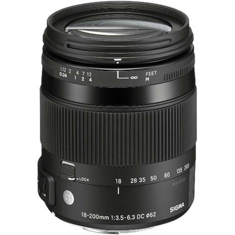 لنز سیگما Sigma 18-200mm Macro for Nikon