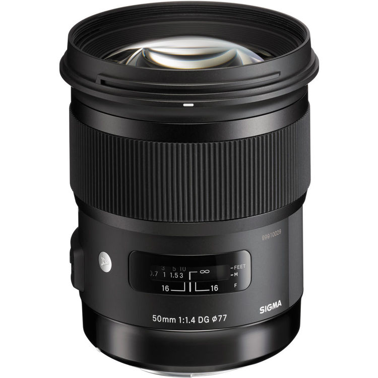 لنز Sigma 50mm f/1.4 DG HSM Art
