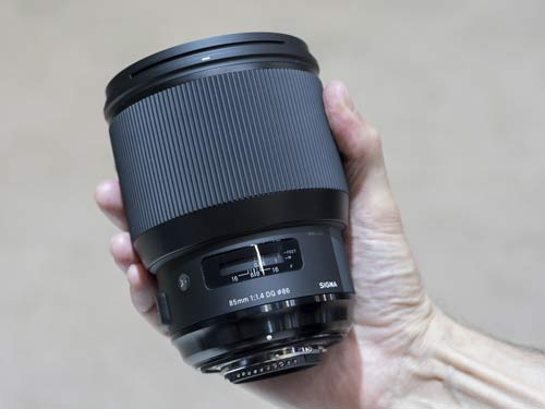 لنز Sigma 85mm f/1.4 DG HSM Art