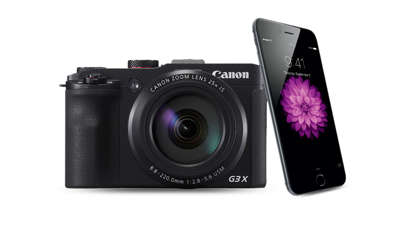 مقایسه شانه به شانه: دوربینهای کانن در مقابل دوربین گوشیهای هوشمند