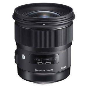 لنز سیگما Sigma 24mm f/1.4 DG HSM Art for Canon