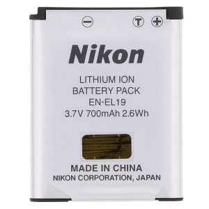 باتری نیکون مشابه اصلی Nikon EN-EL19 Rechargeable Lithium-Ion Battery-HC