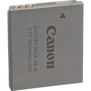 باتری کانن Canon NB-4L Lithium-Ion Battery Pack-HC