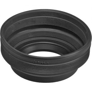 هود لنز Hama 62mm Screw-In Rubber Lens Hood for 24mm to 210mm