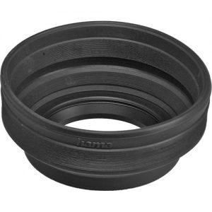 هود لنز Hama 77mm Screw-In Rubber Zoom Lens Hood for 24-210mm