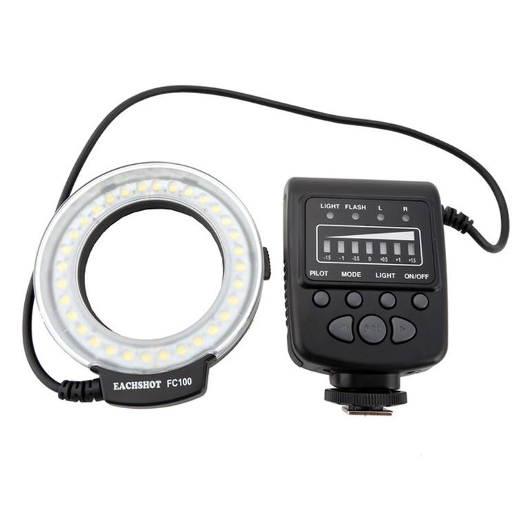 رینگ فلاش Meike FC 100 Macro Ring Flash Light