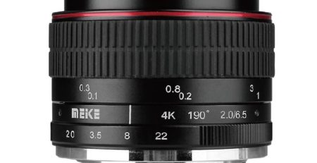 لنز Meike 6.5mm f/2