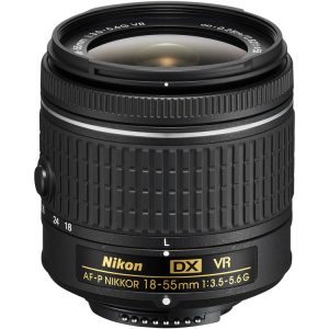 لنز نیکون Nikon AF-P DX NIKKOR 18-55mm f/3.5-5.6G VR No Box