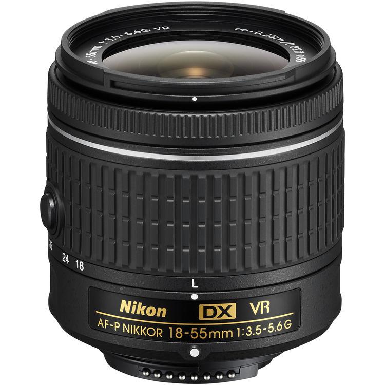 لنز نیکون AF-P DX NIKKOR 18-55mm VR